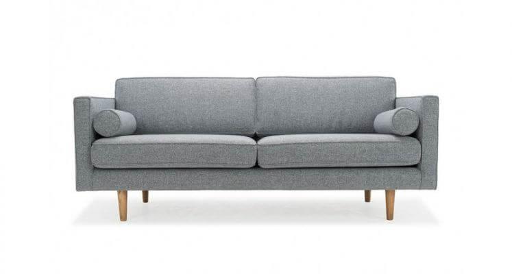 Ghế sofa văng nỉ màu xám – SFHP19